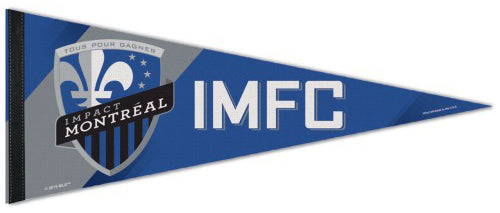 Impact Montreal Official MLS Soccer Club Premium Felt Pennant - Wincraft Inc.