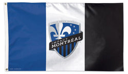 Impact Montreal Official MLS Soccer Team Deluxe-Edition Premium 3'x5' Flag - Wincraft Inc.