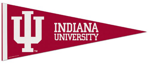 Indiana Hoosiers NCAA Athletics Premium Felt Collector's Pennant - Wincraft Inc.
