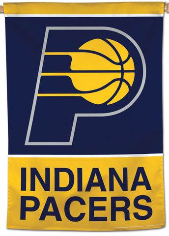 Indiana Pacers Official NBA Basketball Premium 28x40 Team Logo Wall Banner - Wincraft Inc.