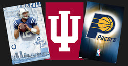 COMBO: Indianapolis, Indiana 3-Poster Combo Special (Colts, Pacers, Hoosiers)