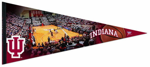 Indiana Hoosiers Basketball Assembly Hall Game Night XL-Size Premium Felt Pennant - Wincraft Inc.