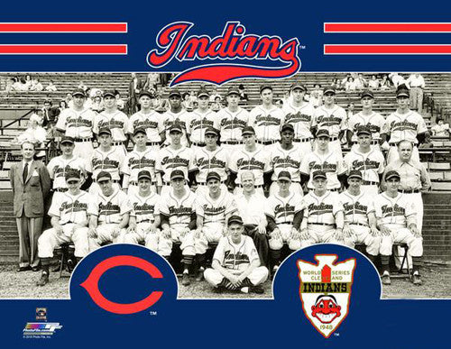 Cleveland Indians 1948 World Series Champions Team Portrait Premium Poster Print - Photofile Inc.
