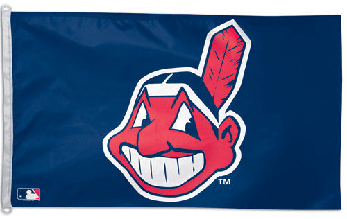 Cleveland Indians Official MLB Baseball 3'x5' Team Banner Flag - Wincraft