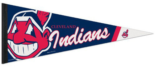 Cleveland Indians Official MLB Baseball Premium Felt Collector's Pennant - Wincraft
