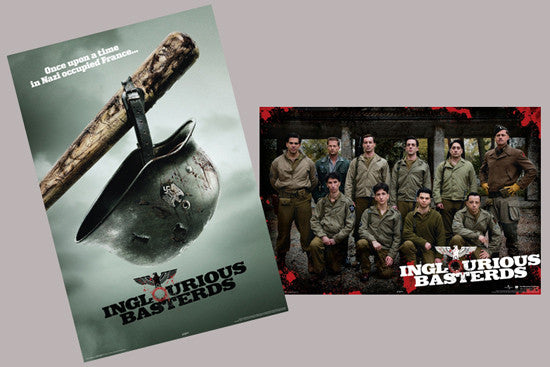 Inglorious Basterds (2009) 2-Poster Combo - Aquarius
