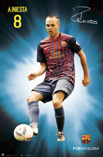"Andres Iniesta ""Signature Series"" (Barcelona 2011/12) - G.E. (Spain)"