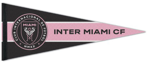 Inter Miami CF Official MLS Soccer Premium Felt Collector's Pennant - Wincraft Inc.