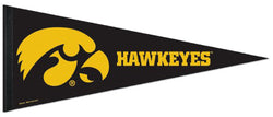 Iowa Hawkeyes NCAA Athletics Premium Felt Collector's Pennant - Wincraft Inc.