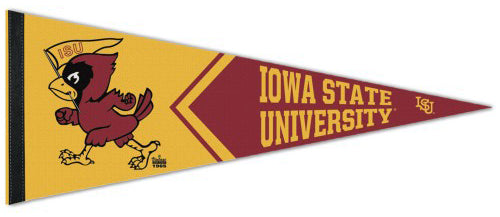 Iowa State Cyclones NCAA College Vault Collection 1960s-Style Premium Felt Collector's Pennant - Wincraft Inc.