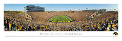"Iowa Hawkeyes ""Bronze Pig Victory"" 9/29/2012 Panoramic Poster Print - Blakeway Worldwide"