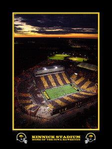 "Iowa Hawkeyes Kinnick Stadium ""Spirit Day"" Aerial - R.A. 2010"