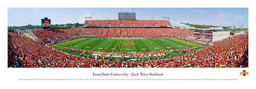 Iowa State Cyclones Football Gameday Panorama - Blakeway 2009