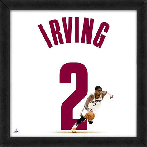 "Kyrie Irving ""Number 2"" Cleveland Cavaliers FRAMED 20x20 UNIFRAME PRINT - Photofile"