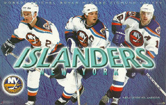 "New York Islanders ""Three Stars"" (1997) - Costacos Brothers"
