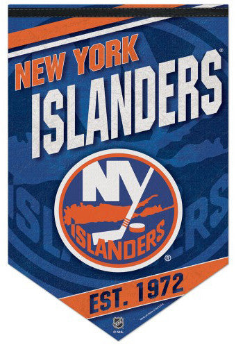 New York Islanders NHL Hockey Premium Felt Banner - Wincraft Inc.