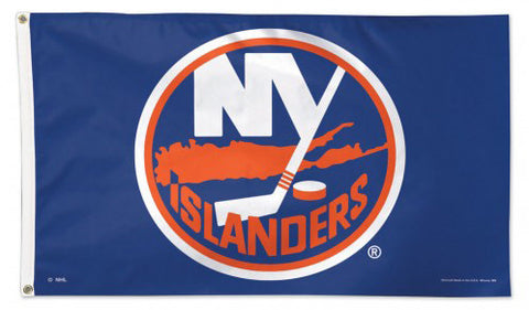 New York Islanders Official NHL Hockey 3'x5' Deluxe-Edition Team Banner Flag - Wincraft