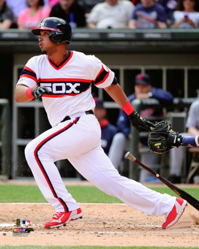 "Jose Abreu ""Retro Slam"" Chicago White Sox Premium Poster Print (2014) - Photofile 16x20"