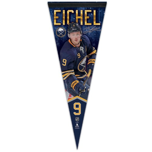 Jack Eichel NHL Signature Series Buffalo Sabres Premium Felt Collector's Pennant - Wincraft 2018