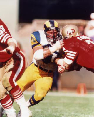 "Jack Youngblood ""L.A. Rams Classic"" (c.1979) Premium Poster Print  - Photofile Inc."