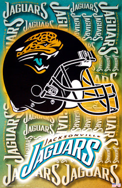Jacksonville Jaguars Official NFL Football Team Logo Poster - Starline Inc.