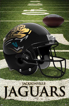 Jacksonville Jaguars Official NFL Football Team Helmet Logo Poster - Trends International