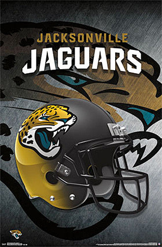 Jacksonville Jaguars Official NFL Team Helmet Logo Wall Poster - Trends International