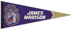 James Madison Dukes NCAA Sports Team Logo Premium Felt Pennant - Wincraft Inc.