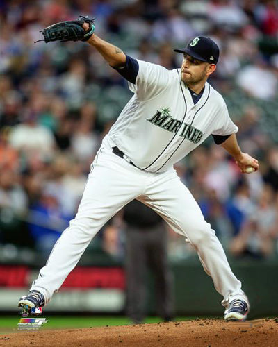 "James Paxton ""Ace"" Seattle Mariners Premium MLB Poster Print - Photofile 16x20"