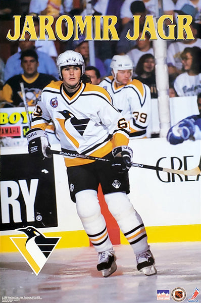 "Jaromir Jagr ""Action"" Pittsburgh Penguins 1992 NHL Hockey Poster - Starline Inc."