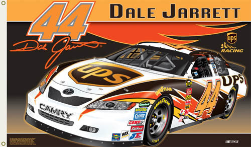 "Dale Jarrett ""Jarrett Nation"" 3'x5' Flag - BSI Products"