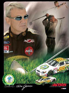 "Dale Jarrett ""Arnold Palmer 50th"" - Action 2004"