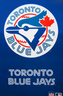 Toronto Blue Jays Classic Team Logo Official MLB Wall Poster - Starline 1993