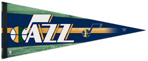 Utah Jazz Official NBA Basketball Team Logo Premium Felt Pennant - Wincraft 2011