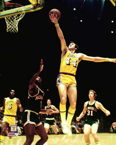 "Jerry West ""Laker Classic"" (1972) Los Angeles Lakers Premium Poster Print - Photofile Inc."