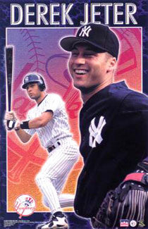 "Derek Jeter ""Superstar"" New York Yankees Poster - Starline 2000"