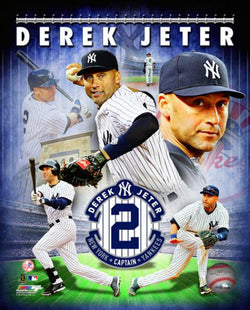 "Derek Jeter ""Captain Forever"" New York Yankees Premium Poster Print - Photofile 2014"