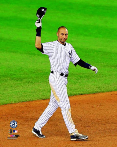 "Derek Jeter ""Tip of the Cap"" (9/25/2014) New York Yankees Premium Poster Print - Photofile"