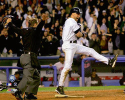 "Derek Jeter ""Safe at Home"" (2004 ALDS) New York Yankees Premium Poster Print - Photofile Inc."