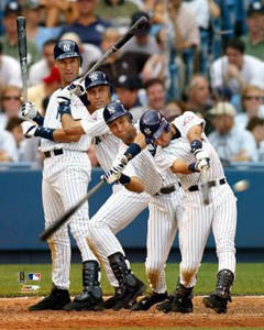 "Derek Jeter ""The Swing"" (2003) New York Yankes Premium Poster Print- Photofile Inc."