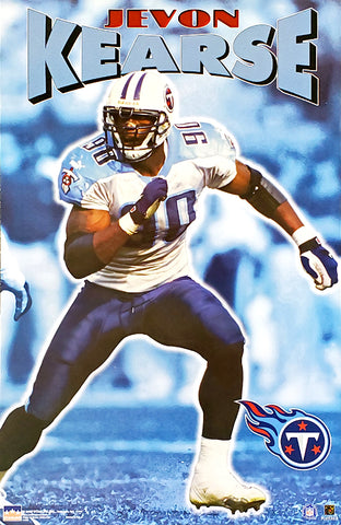 "Jevon Kearse ""Freak Action"" Tennessee Titans NFL Football Poster - Starline 2000"