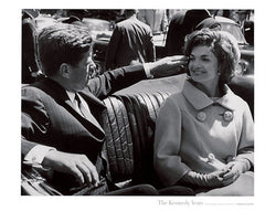 "JFK and Jackie ""The Kennedy Years"" Poster Print (by Stanley Tetrick)"