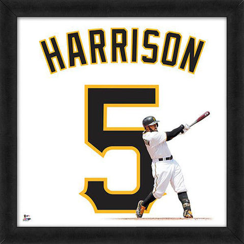 "Josh Harrison ""Number 5"" Pittsburgh Pirates FRAMED 20x20 UNIFRAME PRINT - Photofile"
