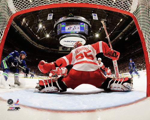 "Jimmy Howard ""Netcam Action"" (2010) Detroit Red Wings Premium Poster - Photofile 16x20"