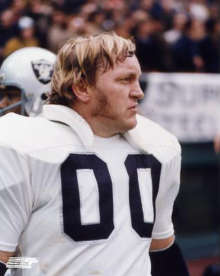 "Jim Otto ""Double-0"" Oakland Raiders c.1971 Premium Clasic Poster Print - Photofile Inc."