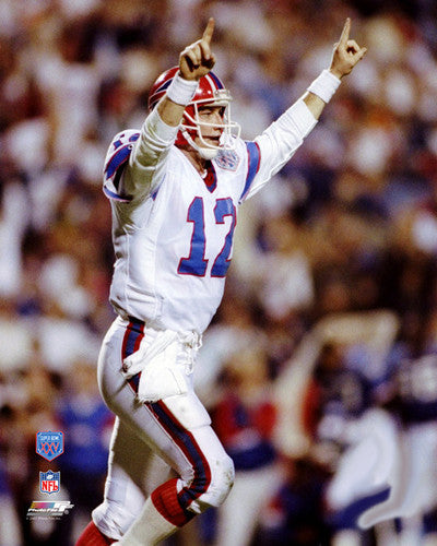 "Jim Kelly ""Greatness"" (1991) Buffalo Bills Premium Poster Print - Photofile Inc."