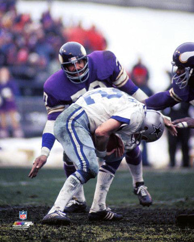 "Jim Marshall ""Purple Monster"" Minnesota Vikings c.1973 Premium Poster Print - Photofile Inc."