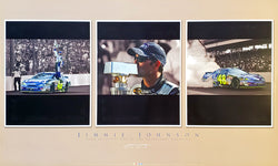 "Jimmie Johnson ""Brickyard Champ"" Classic NASCAR Racing Poster - Time Factory 2006"