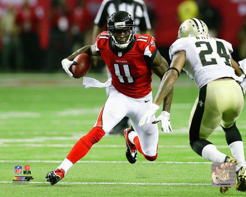 "Julio Jones ""One-on-One"" (2017) Atlanta Falcons Football Premium Poster Print - Photofile 16x20"