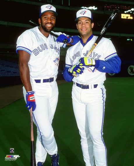 "Joe Carter and Roberto Alomar ""Skydome Supertars"" 1993 Toronto Blue Jays Premium Poster Print - Photofile Inc."